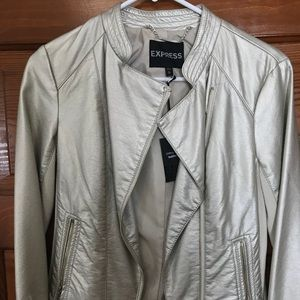 Gold fashion jacket from Express